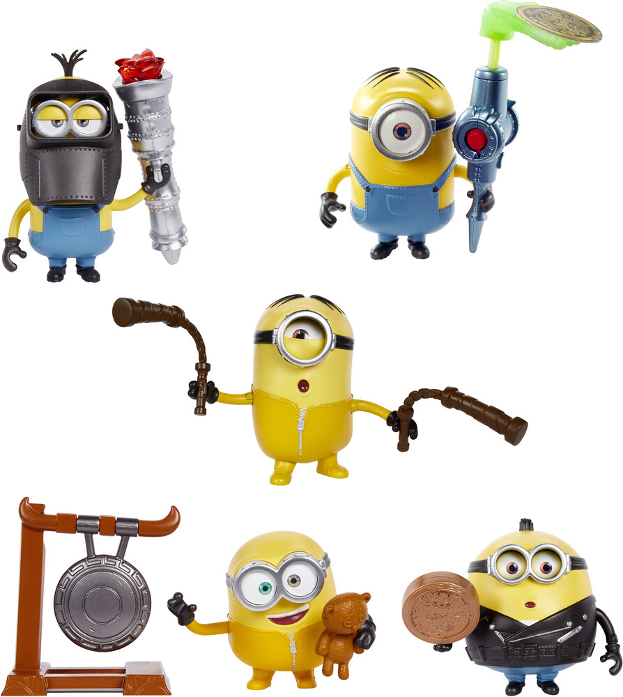 Minions - Mattel - Minions Mischief Makers Assortment (DreamWorks)
