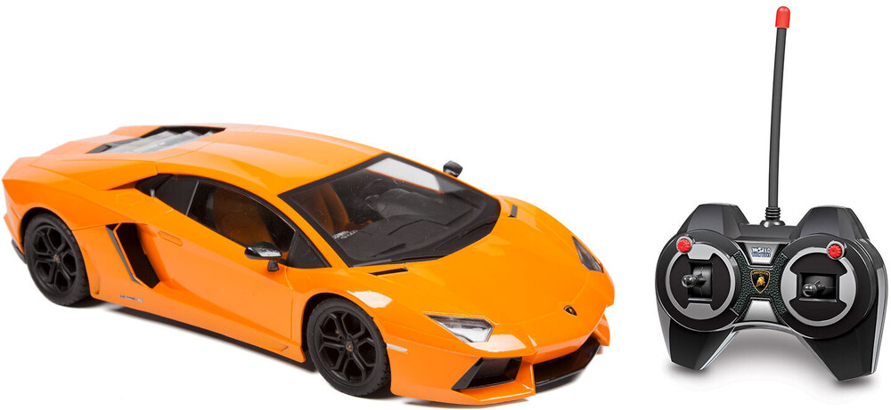 Rc Vehicles - Lamborghini Aventador LP 700-4 1:12 RTR Electric RC Car (One random color per transaction. Colors orange, yellow or black.)