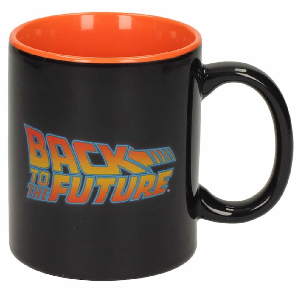 - Back To The Future Logo 10 Oz Black Ceramic Mug