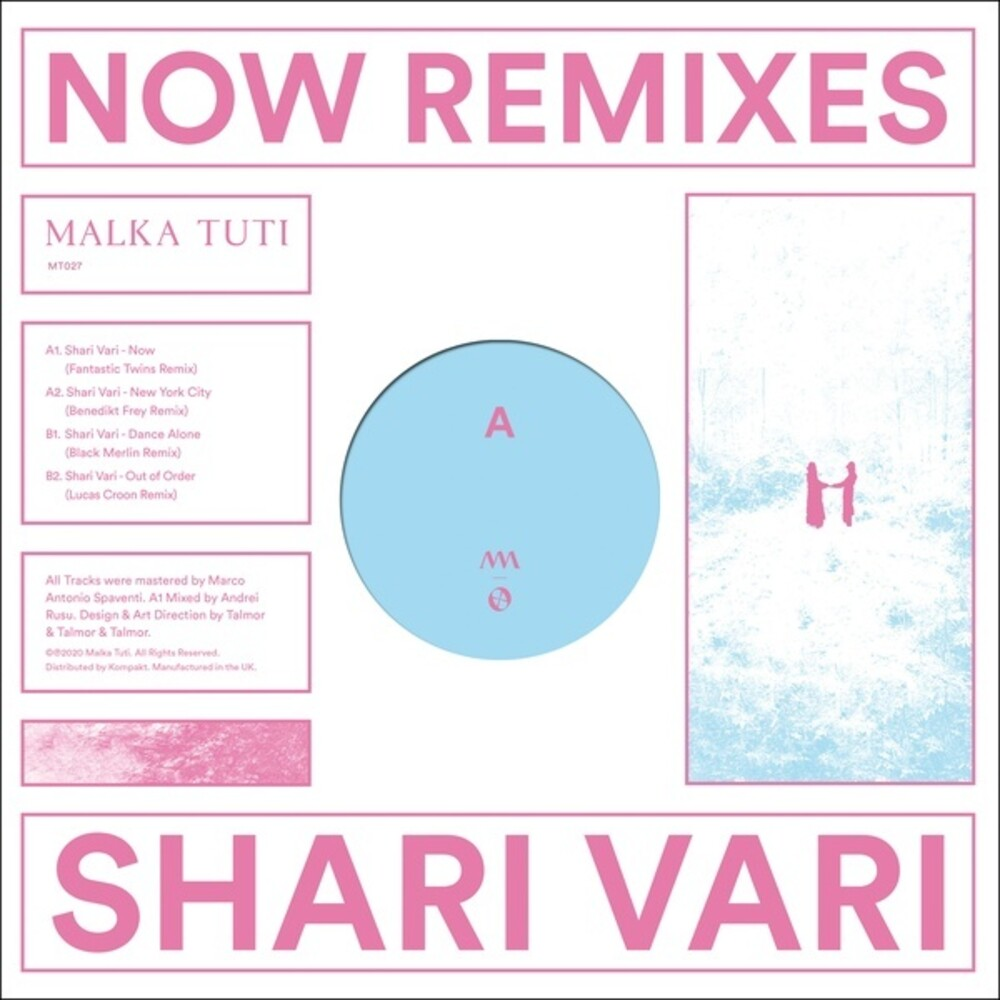 Shari Vari - Now Remixes