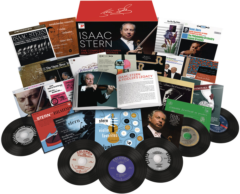 Isaac Stern - Saac Stern: Complete Columbia Analogue Recordings