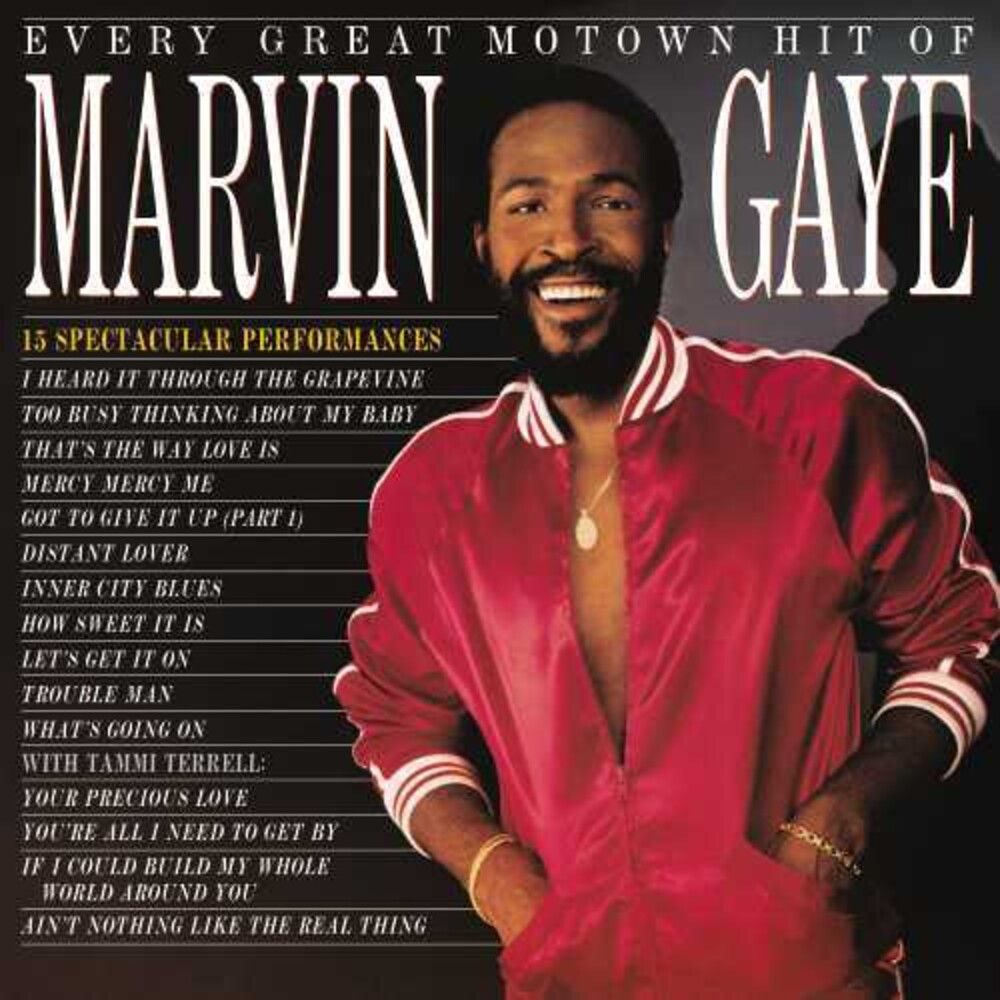 Marvin Gaye - Every Great Motown Hit Of Marvin Gaye: 15 Spectacu