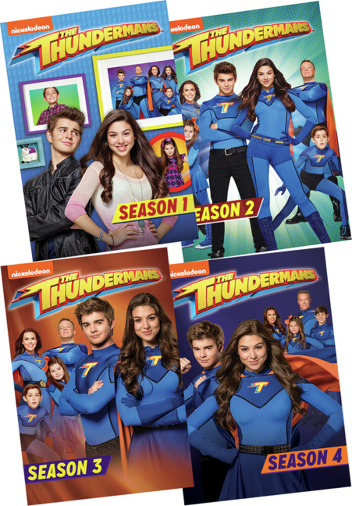 - Thundermans: Season 1-4 (12pc) / (Box Mod)