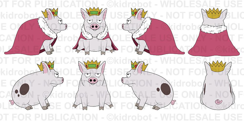 - NECA - Disenchantment Pig Prince Merkimer Plush