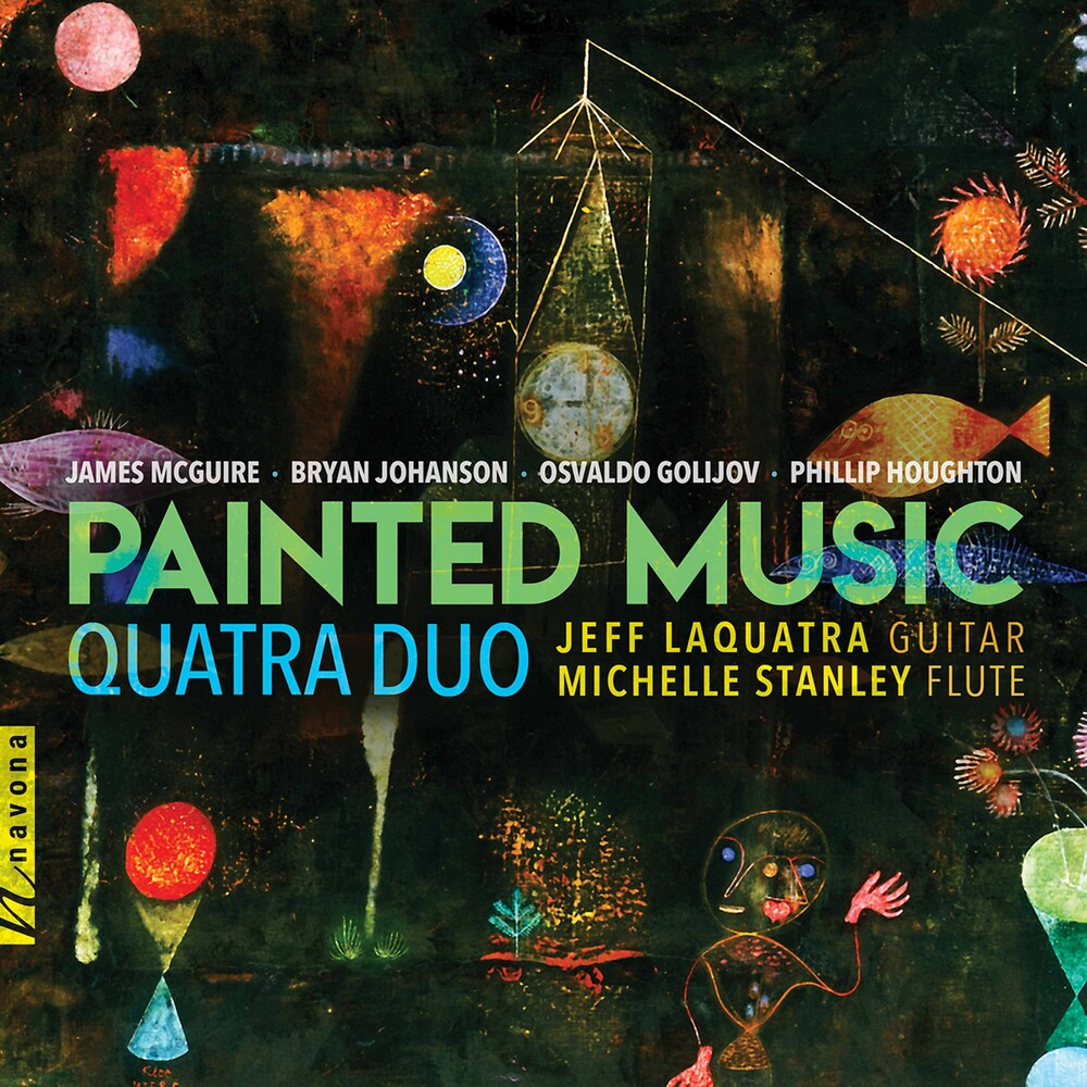 Golijov / Quatra Duo - Painted Music
