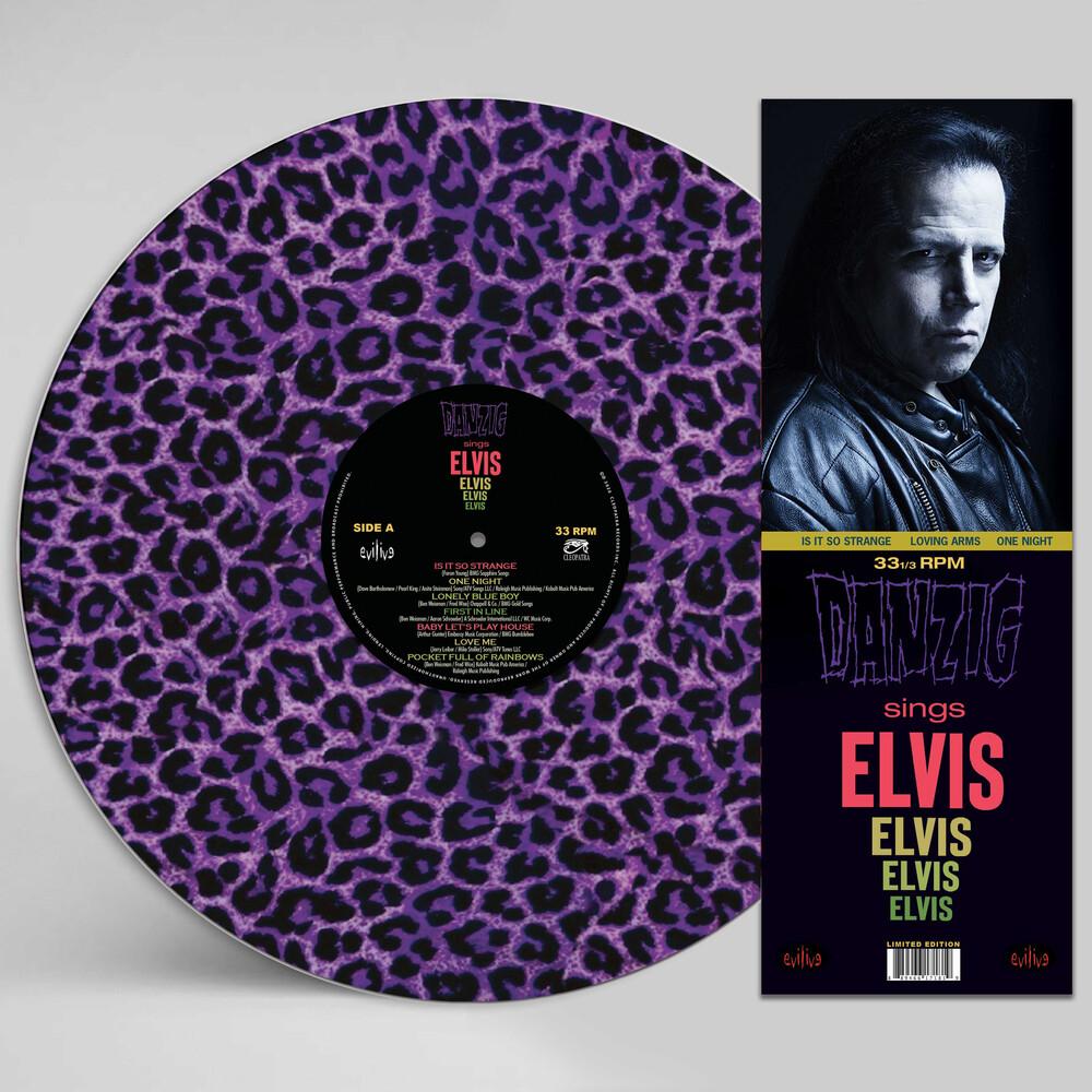 Danzig - Sings Elvis - A Gorgeous Purple Leopard Picture Disc Vinyl