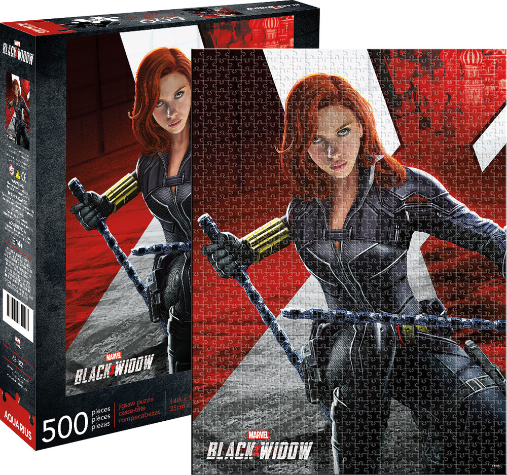 Marvel Black Widow Movie 500 PC Puzzle - Marvel Black Widow Movie 500 Pc Puzzle