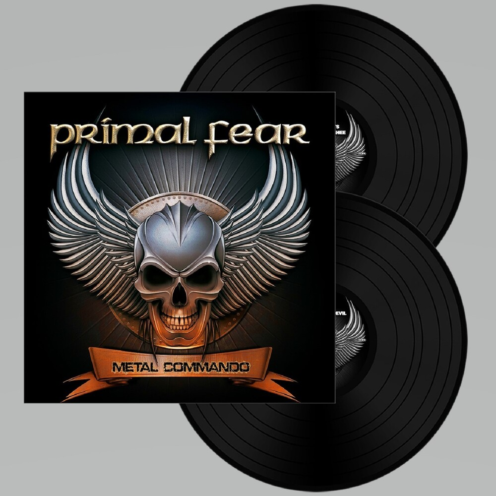 Primal Fear - Metal Commando (Black Vinyl) (Blk) (Gate)