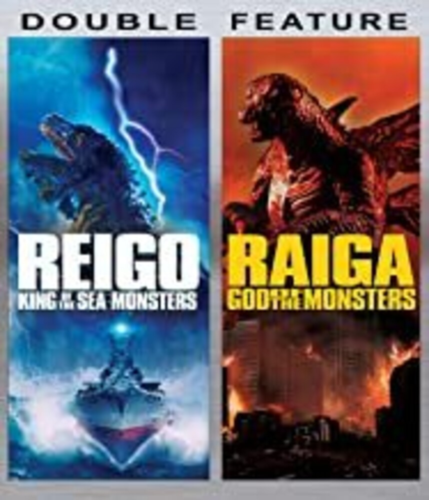 - Kaiju Clash Double Feature: Reigo And Raiga