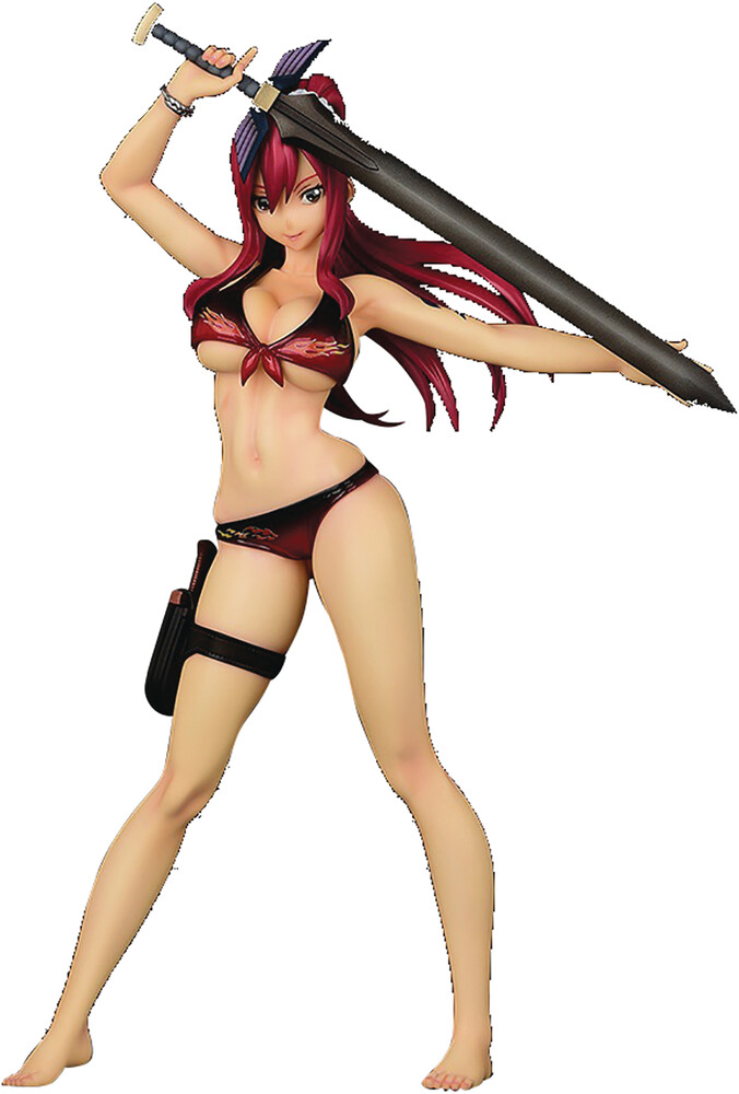 Good Smile Company - Good Smile Company - Fairy Tail Erza Scarlet 1/6 PVC Figure Swim Gravure Fire Version (Mr)