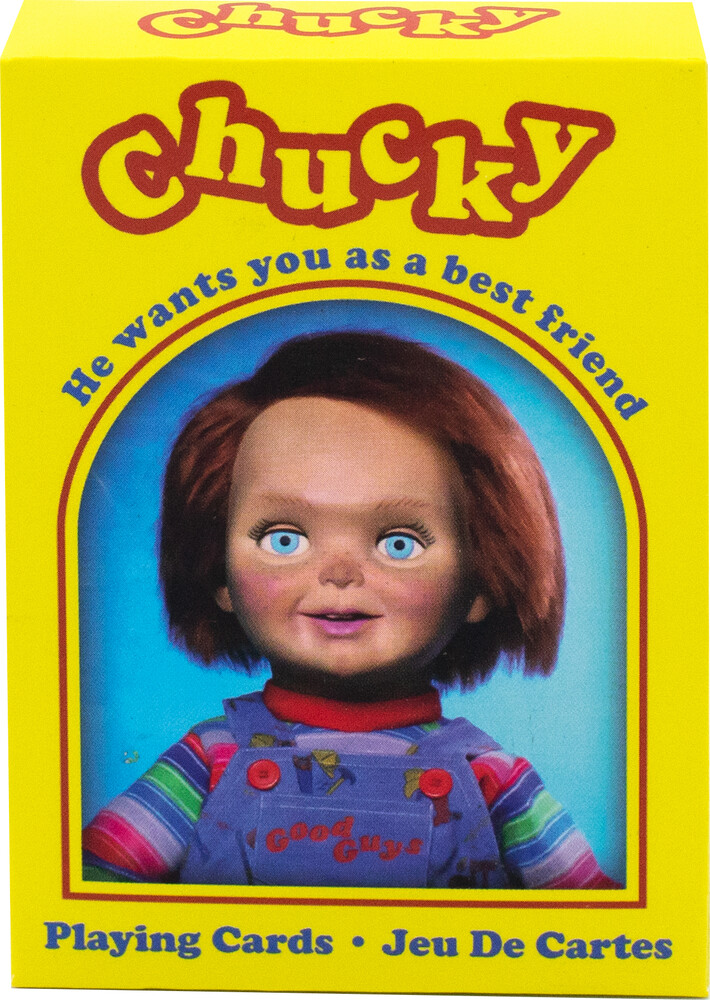 Chucky Playing Cards Deck - Chucky Playing Cards Deck