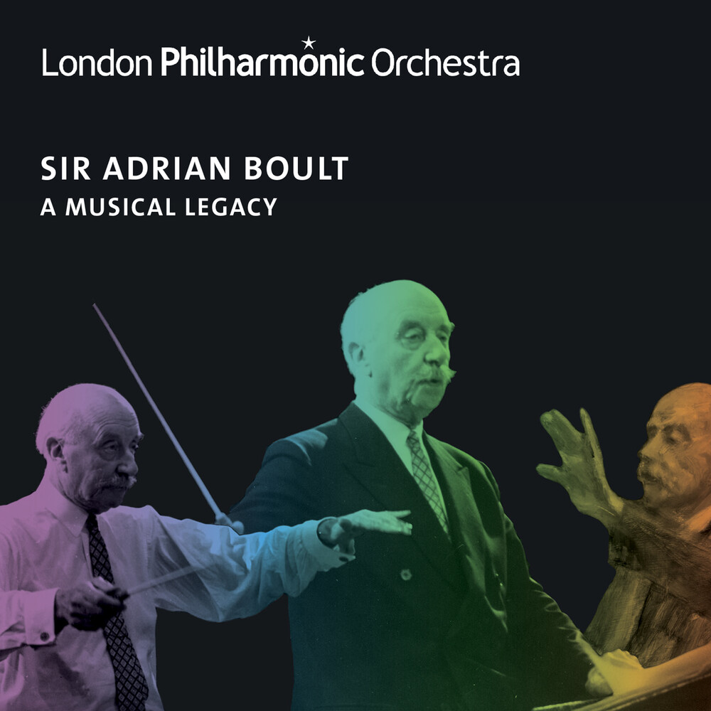 London Philharmonic Orchestra / Adrian Boult - Adrian Boult - A Musical Legacy (Box)