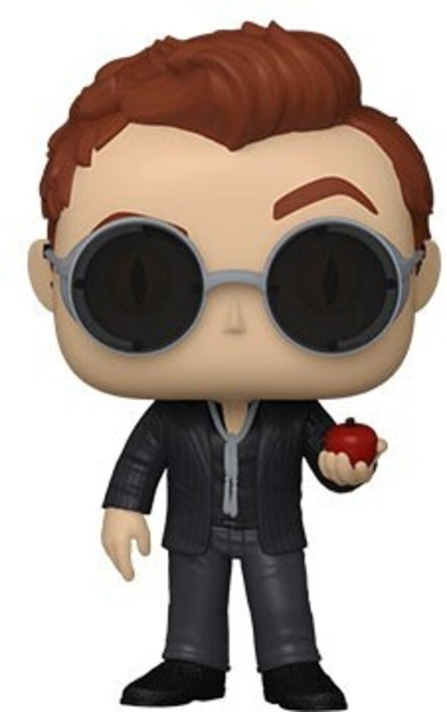 - FUNKO POP! TELEVISION: Good Omens-Crowley w/Apple (Styles May Vary)