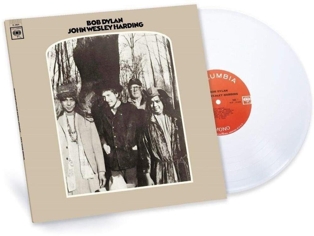 Bob Dylan - John Wesley Harding [2010 Mono Version] (White Vinyl)