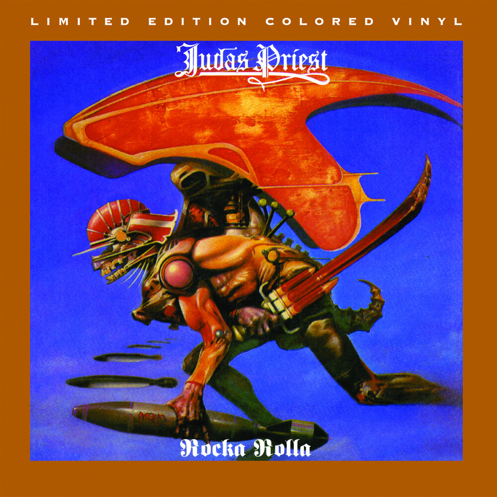 Judas Priest - Rocka Rolla (Translucent Grape  with Opaque White, Black Splatter)