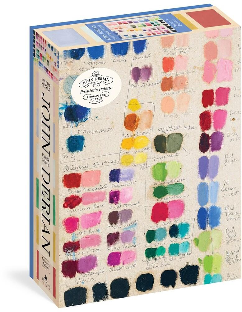 Derian, John - John Derian Paper Goods: Painter's Palette 1,000-Piece Puzzle