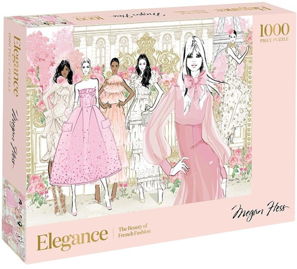 - Elegance: 1000 Piece Puzzle: The Beauty of French Fashion