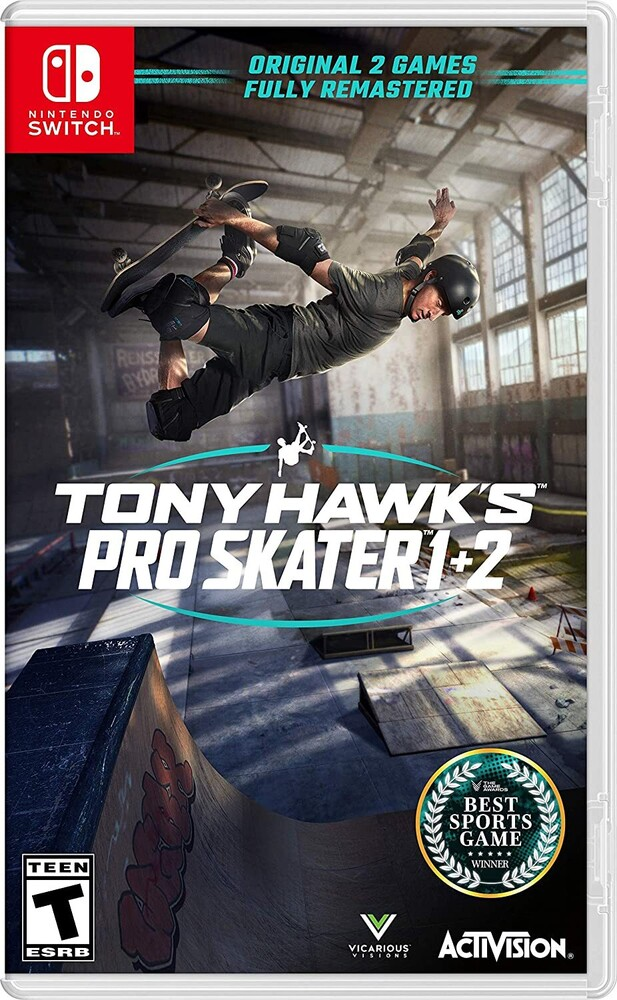 - Tony Hawk Pro Skater 1+2 for Nintendo Switch Standard Edition