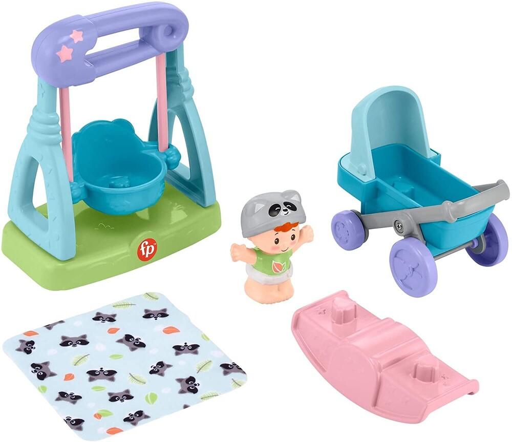 - Fisher Price - Little People Babies Deluxe Outdoor