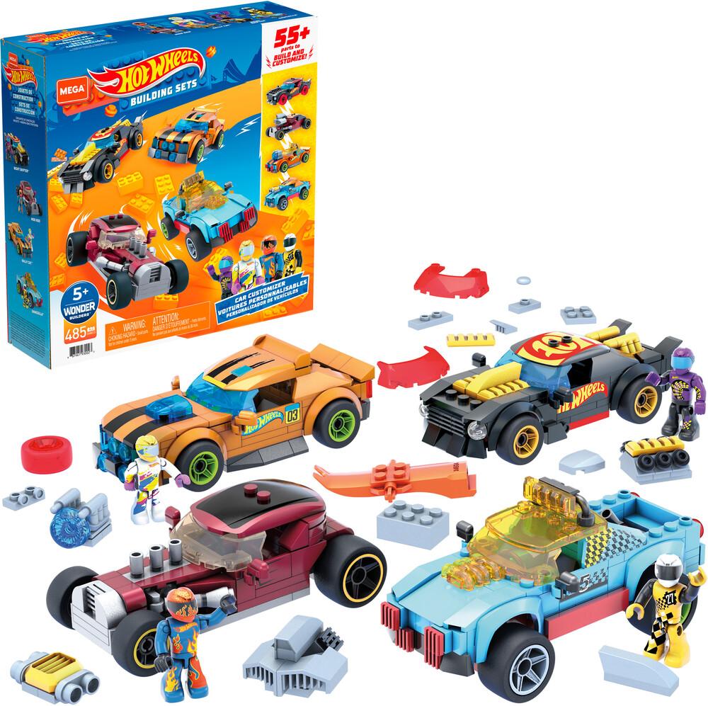 Mega Brands Hot Wheels - MEGA Brands - Hot Wheels Ultimate Custom Race Car Builder