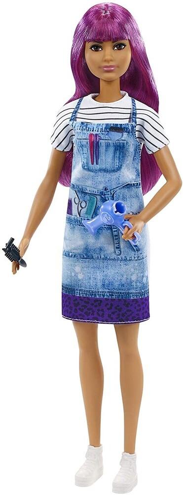 - Mattel - Barbie Salon Stylist, Purple Hair