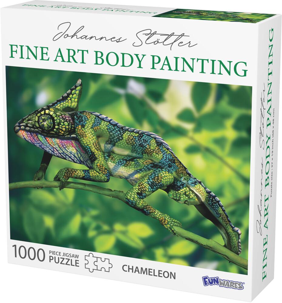 - Funwares Johannes Stotter Chameleon Body Art Puzz