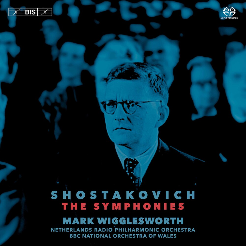 Shostakovich / Wigglesworth - Symphonies (Box) (Hybr)