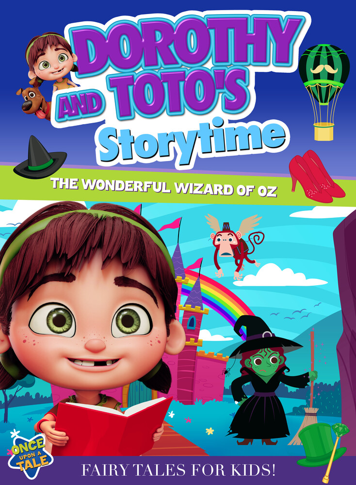 - Dorothy and Toto's Storytime: The Wonderful Wizard of Oz Part 3