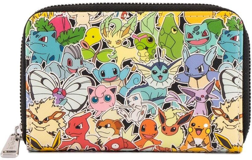 Loungefly Pokemon: - Ombre Zip Around Wallet (Wal)