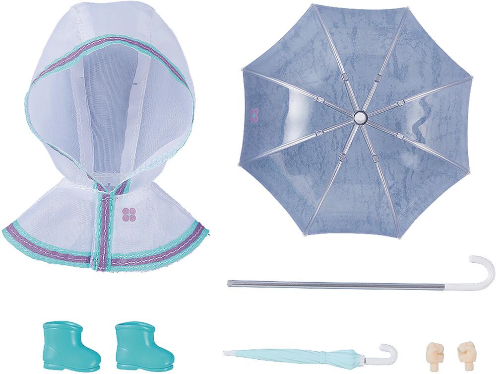 - Nendoroid Doll Outfit Set Rain Poncho White Ver