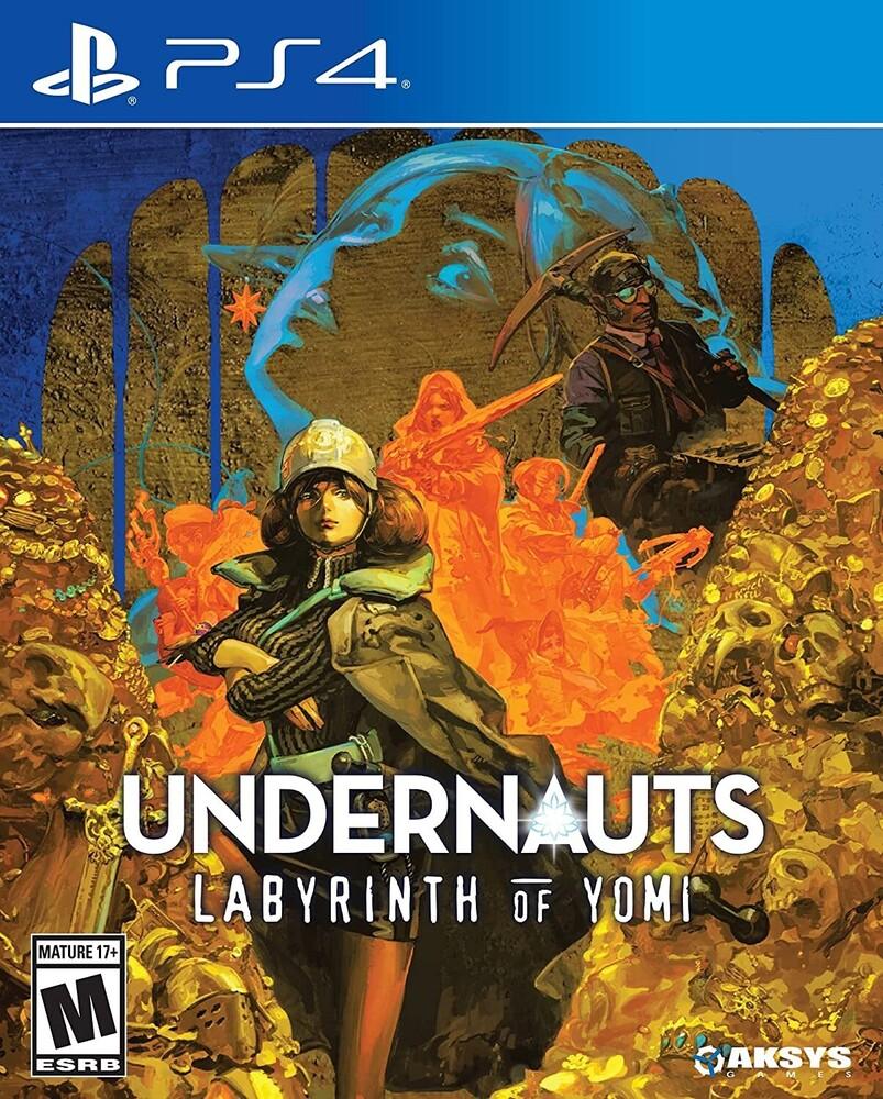 Ps4 Undernauts: Labyrinth of Yomi - Ps4 Undernauts: Labyrinth Of Yomi
