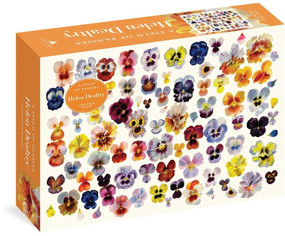 - Field Of Pansies 1000 Piece Puzzle (Puzz)