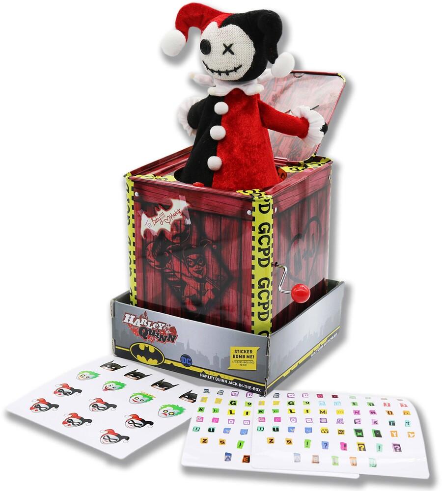 Silver Fox Collectibles - Dc Harley Quinn - Jack-In-The-Box (Clcb) (Fig)