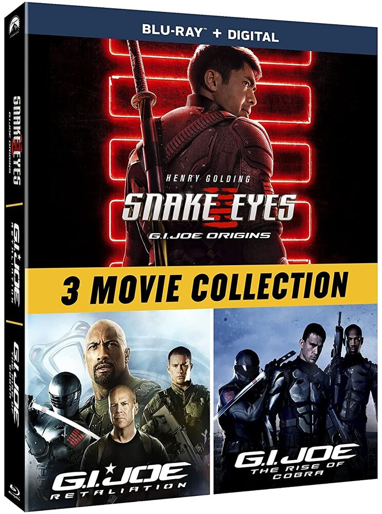 Snake Eyes: Gi Joe Origins: 3-Movie Collection - G.I. Joe: 3-Movie Collection