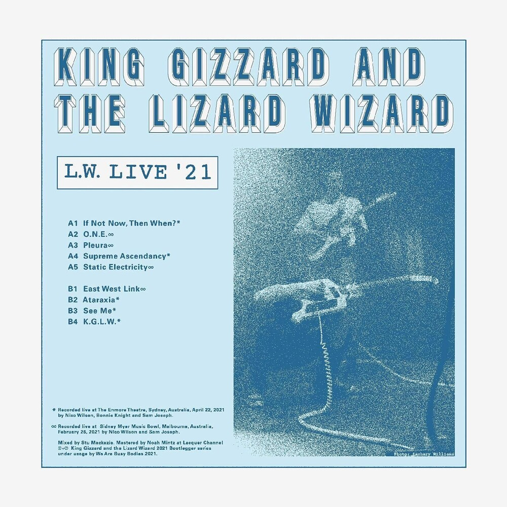 King Gizzard and the Lizard Wizard - L.w. Live In Australia (Reverse Groove)