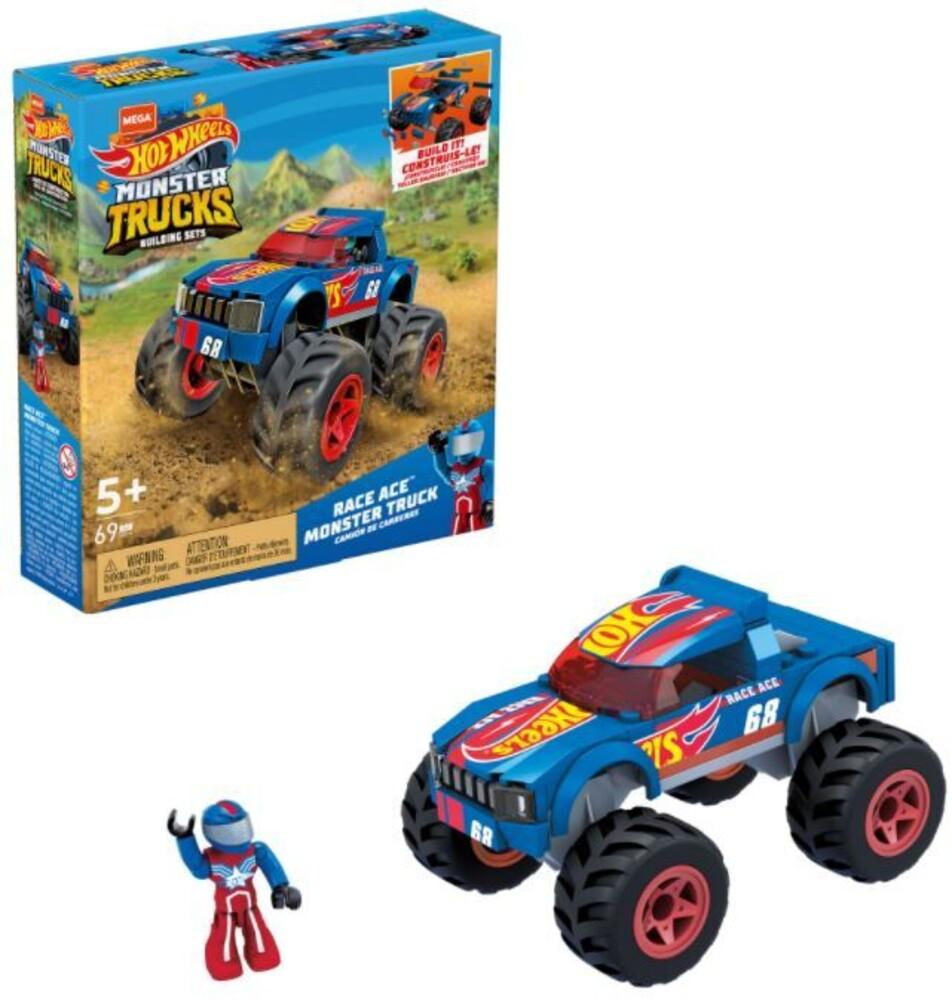 Mega Brands Hot Wheels - Hw Race Ace (Tcar) (Brik)