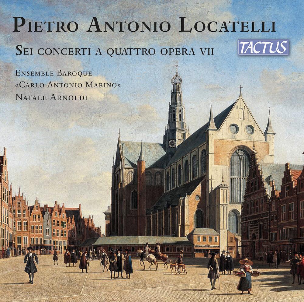 Locatelli - Sei Concerti a Quattro Opera Vii