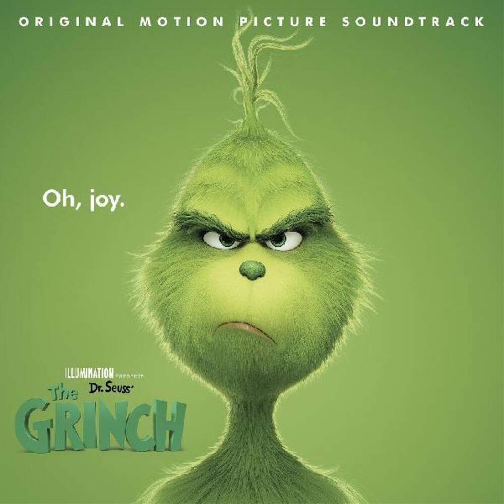 Dr Seuss The Grinch / O.S.T. (Cvnl) (Red) (Wht) - Dr Seuss The Grinch / O.S.T. [Clear Vinyl] (Red) (Wht)