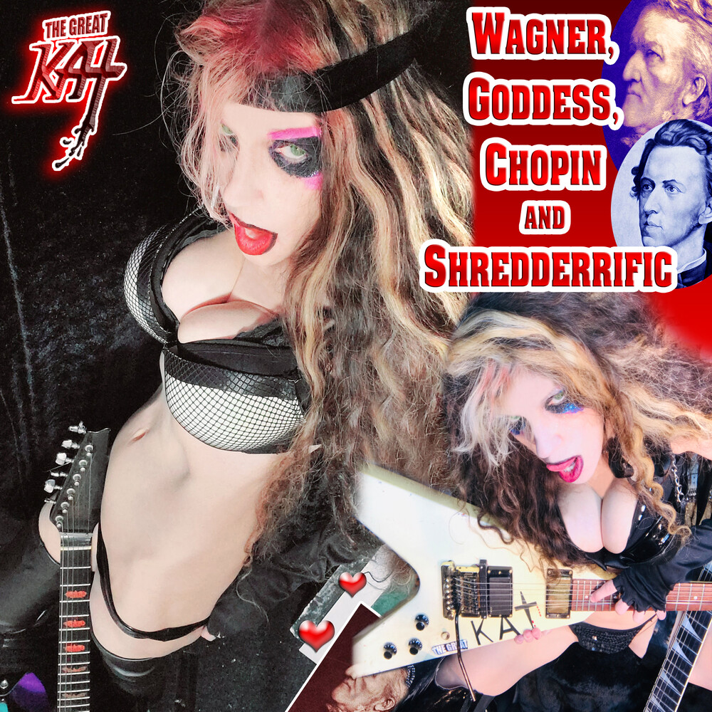 The Great Kat - Wagner, Goddess, Chopin And Shredderrific