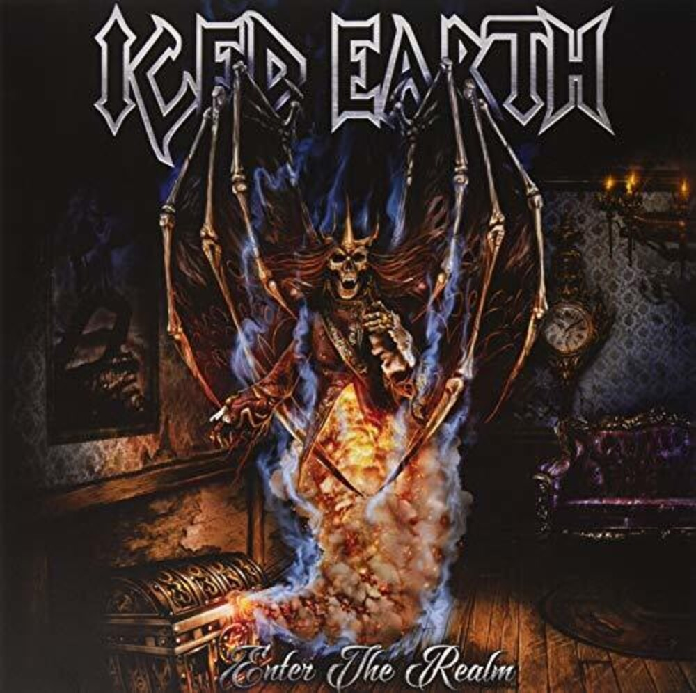 Iced Earth - Enter The Realm EP [Import Limited Edition Red Vinyl]