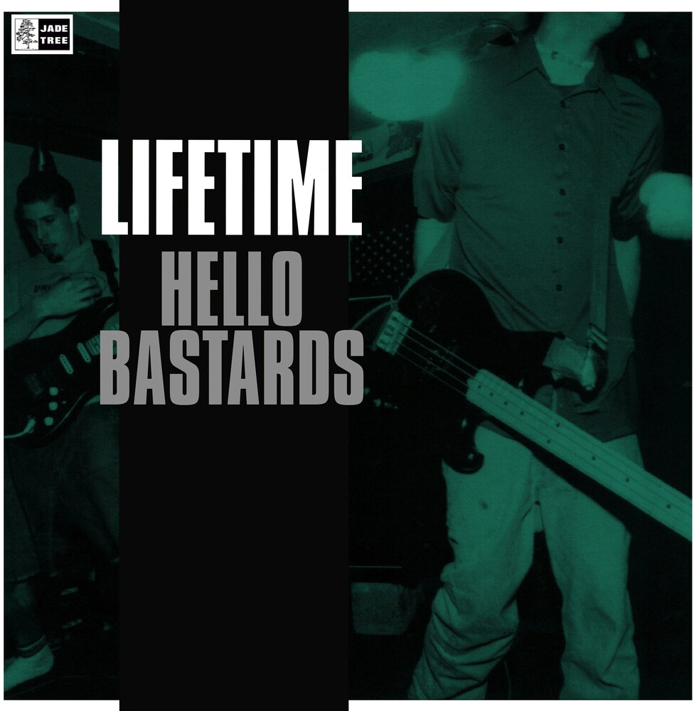 Lifetime - Hello Bastards [Limited Edition Translucent Clear w/Black LP]