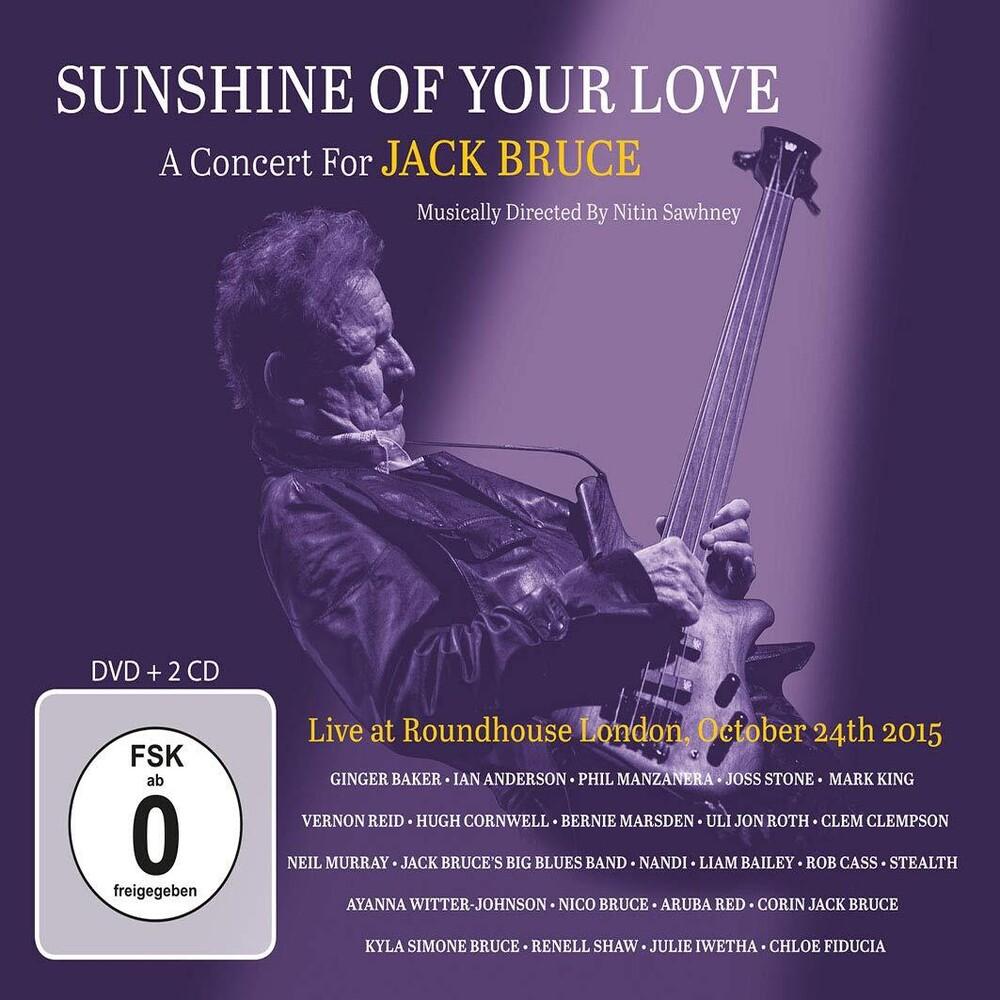 Sunshine Of Your Love Concert For Jack Bruce / Va - Sunshine Of Your Love: Concert For Jack Bruce / Va