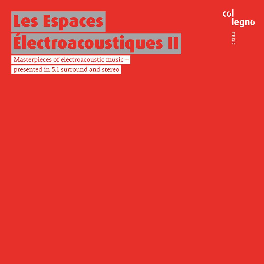 Les Espaces Electroacousti 2 / Various Hybr - Les Espaces Electroacousti 2 (Hybr) (2pk)