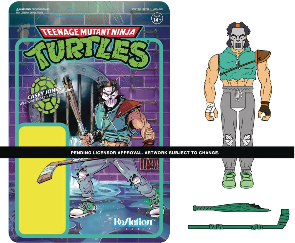 Teenage Mutant Ninja Turtles Wave 3 - Casey Jones - Teenage Mutant Ninja Turtles Wave 3 - Casey Jones