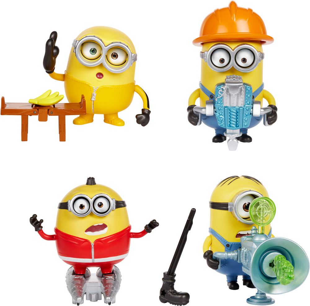 Minions - Mattel - Minions Loud 'N Rowdy Assortment (DreamWorks)