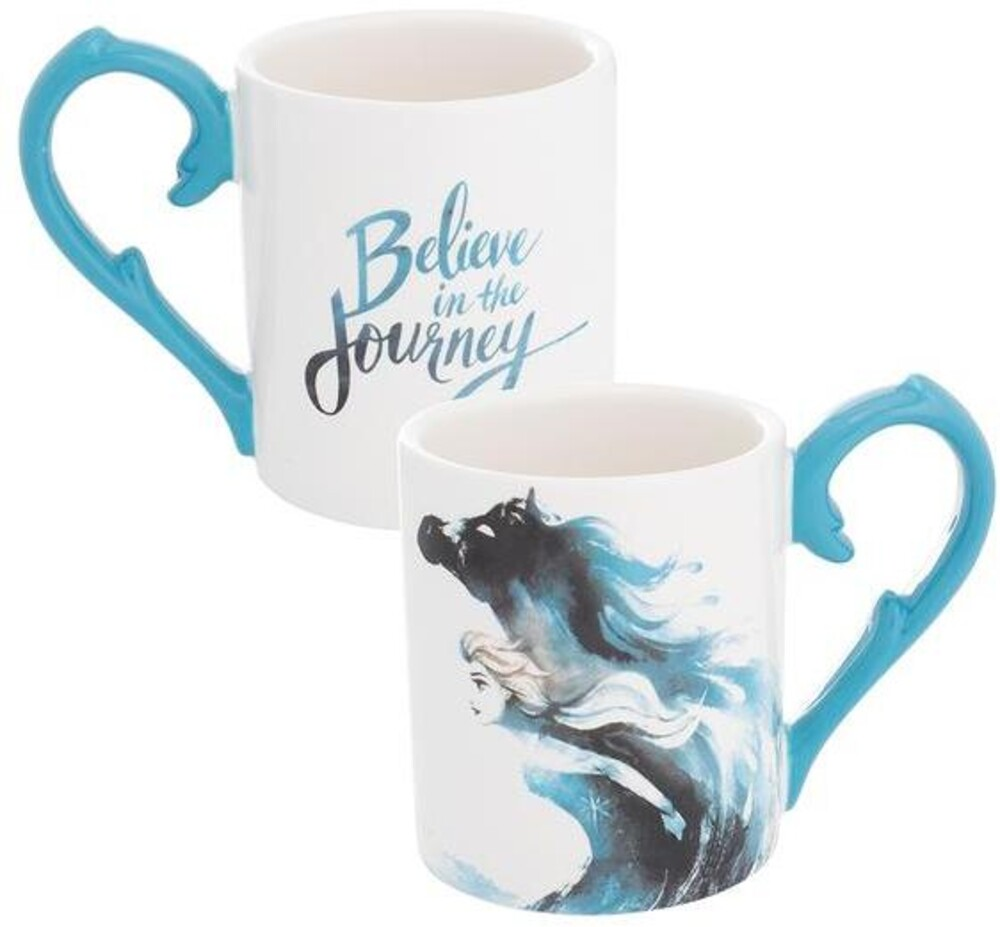 Disney Frozen 2 Elsa 14 Oz. Sculpted Ceramic Mug - Disney Frozen 2 Elsa 14 Oz. Sculpted Ceramic Mug