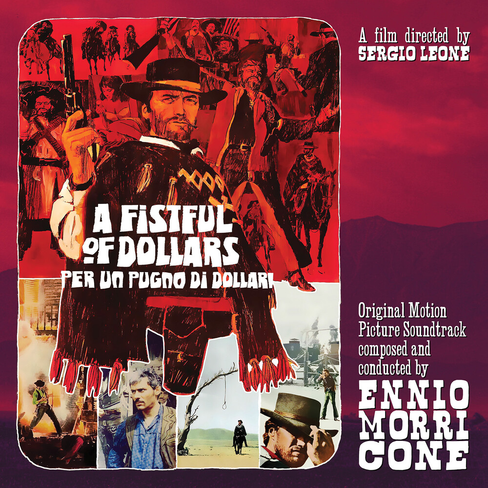 Ennio Morricone 10in Gate Red Iex - Fistful Of Dollars / O.S.T. (10in) (Gate) (Red)