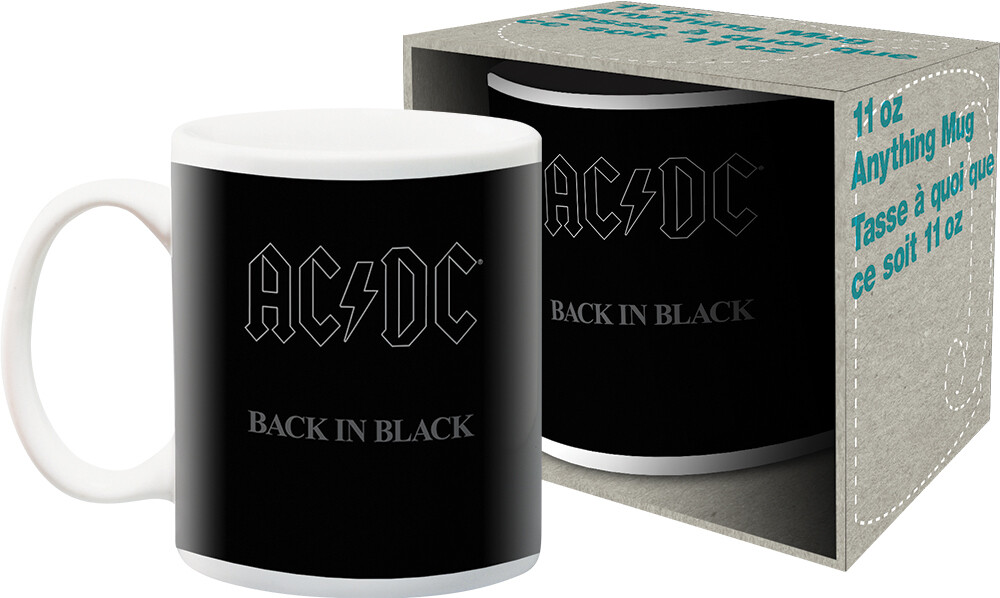 AC/DC - AC/DC Back In Black Album Cover Artwork 11oz Mug Boxed