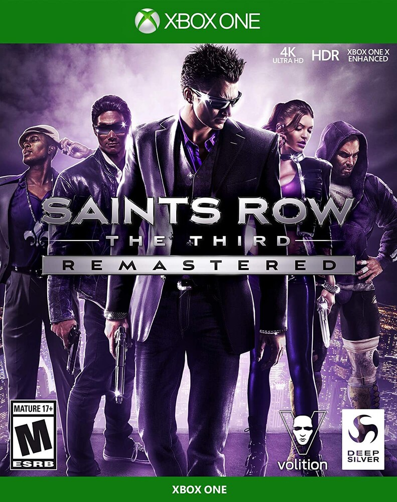 Xb1 Saints Row the Third Remastered - Saints Row The Third Remastered