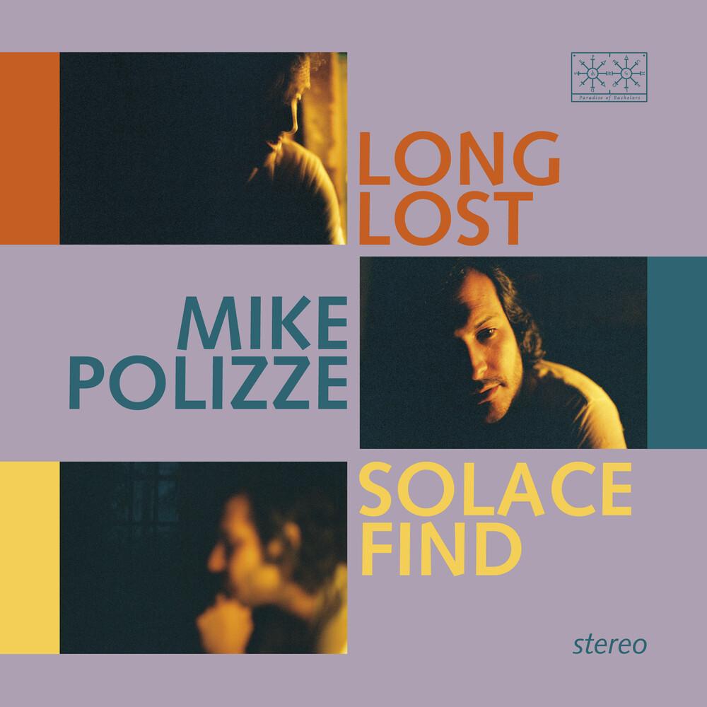 Mike Polizze - Long Lost Solace Find (Transparent Blue Vinyl)